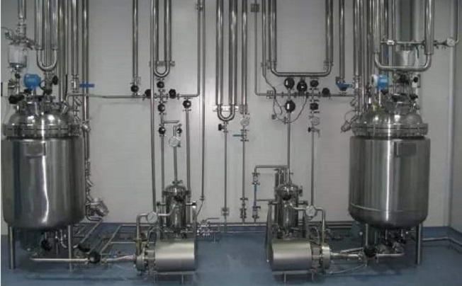 四川企惠实验室气体管道工程图