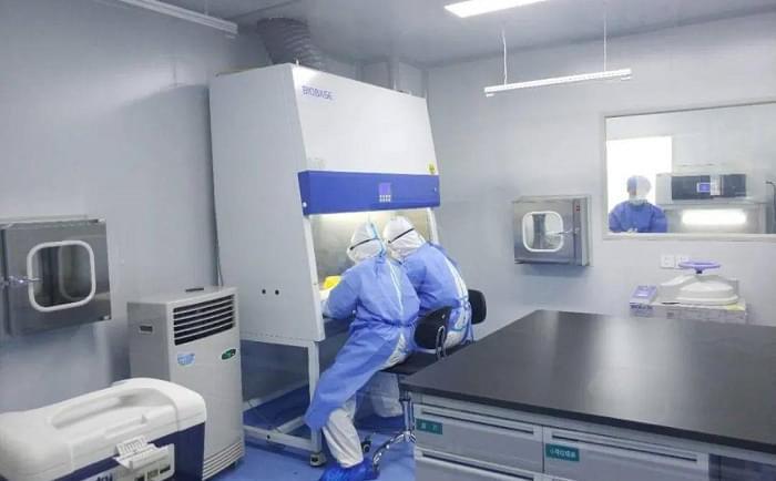 PCR实验室建设工程图片